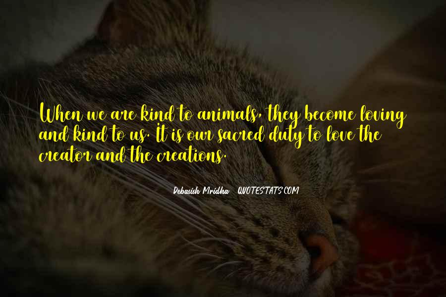 Animals Inspirational Quotes #1086143