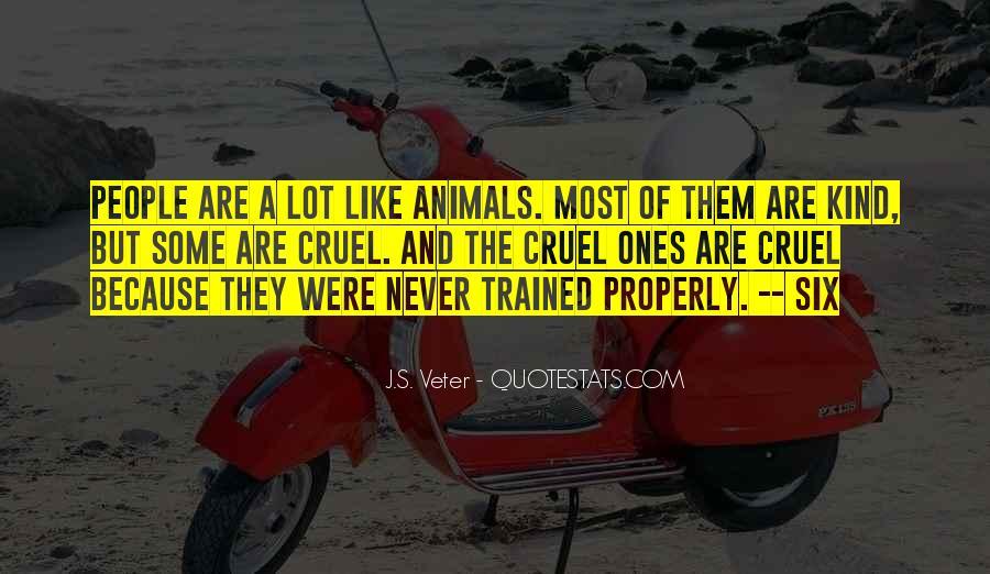Animals Inspirational Quotes #440971