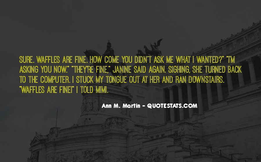 Ann Quotes #12552