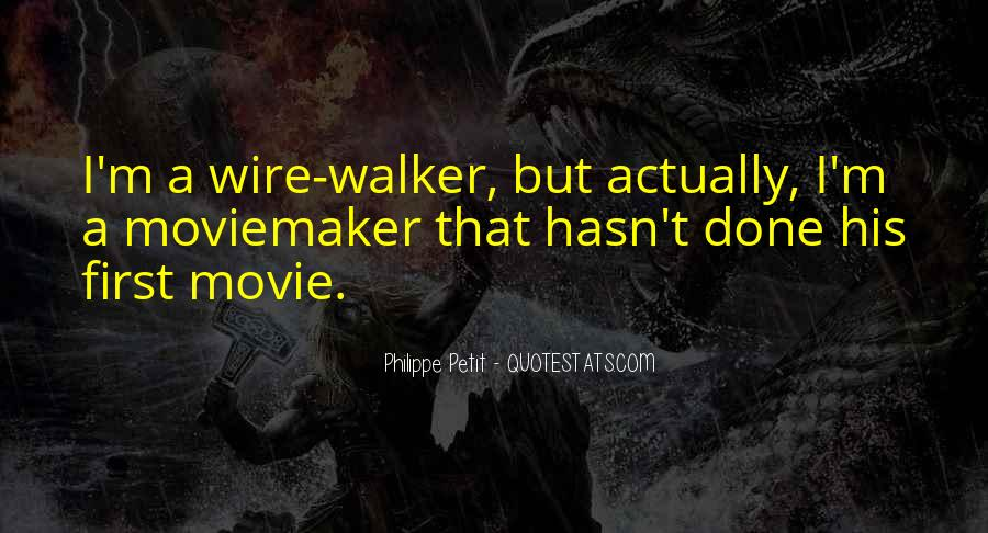 Quotes About Moviemaker #195549