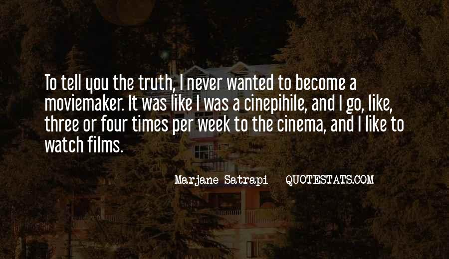 Quotes About Moviemaker #462850