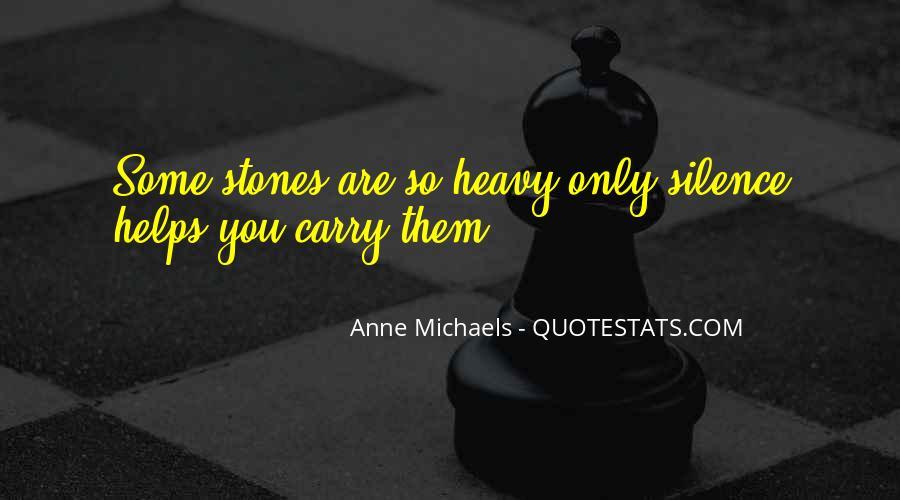 Anne Michaels Fugitive Pieces Quotes #609296