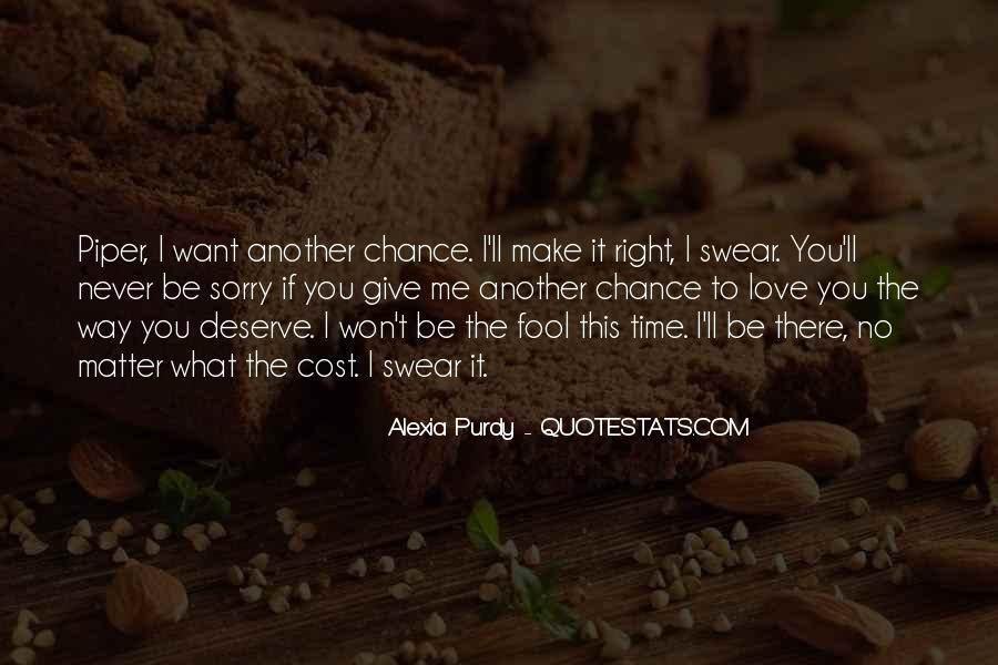 Another Chance To Make It Right Quotes #1499323
