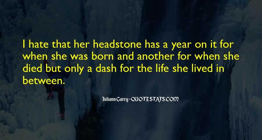 Another Year Another Life Quotes #1202728