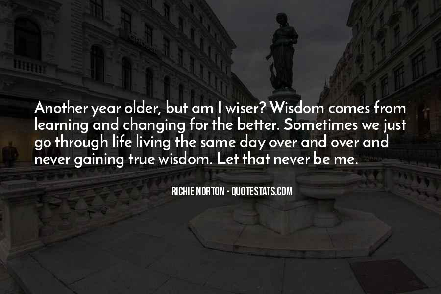 Another Year Another Life Quotes #253531