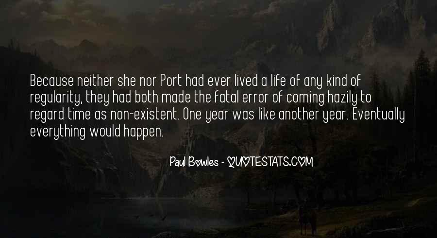 Another Year Another Life Quotes #344097