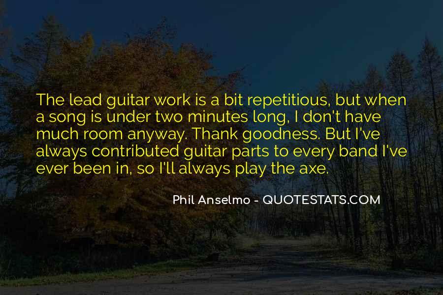Anselmo Quotes #1229416