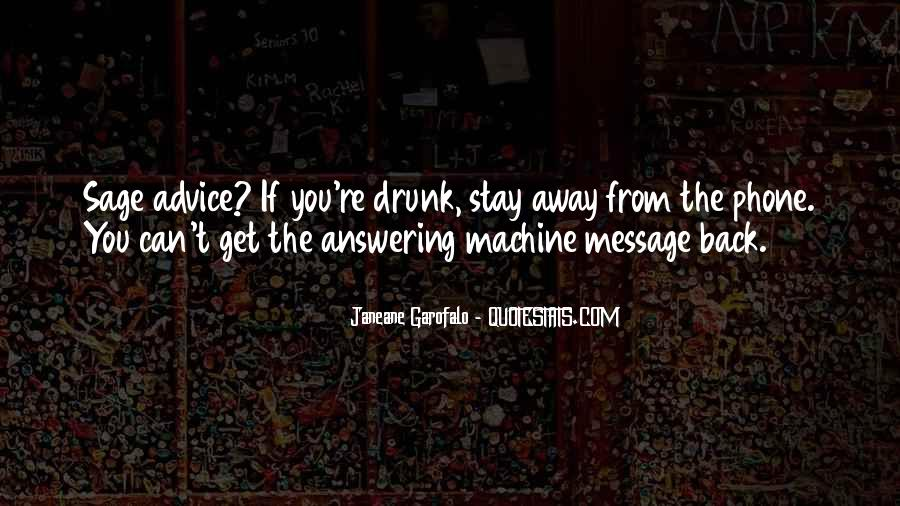 Answering Machine Quotes #1575235