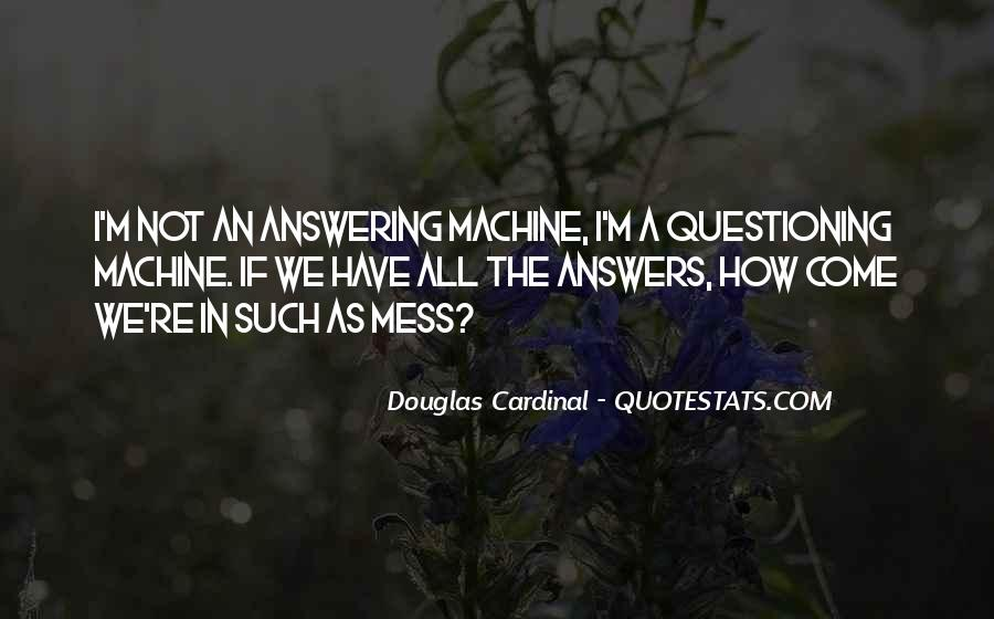 Answering Machine Quotes #779679