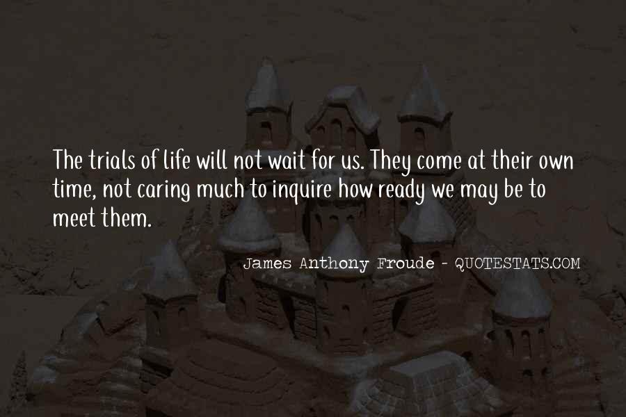 Anthony Froude Quotes #376816