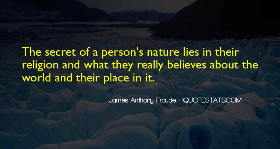 Anthony Froude Quotes #981499