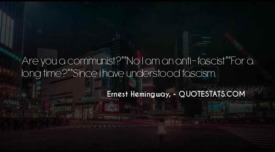 Anti Fascist Quotes #1351736