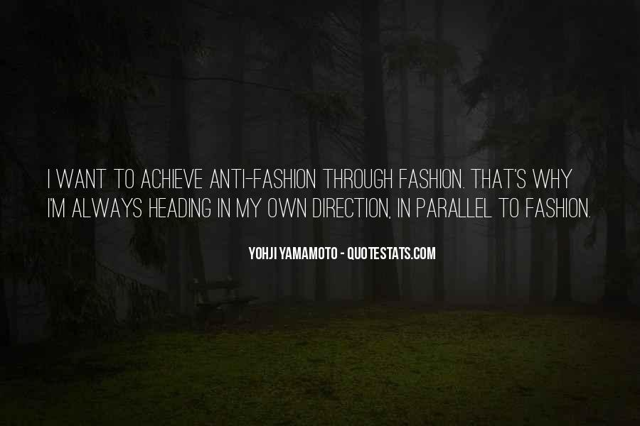 Anti Fashion Quotes #719311