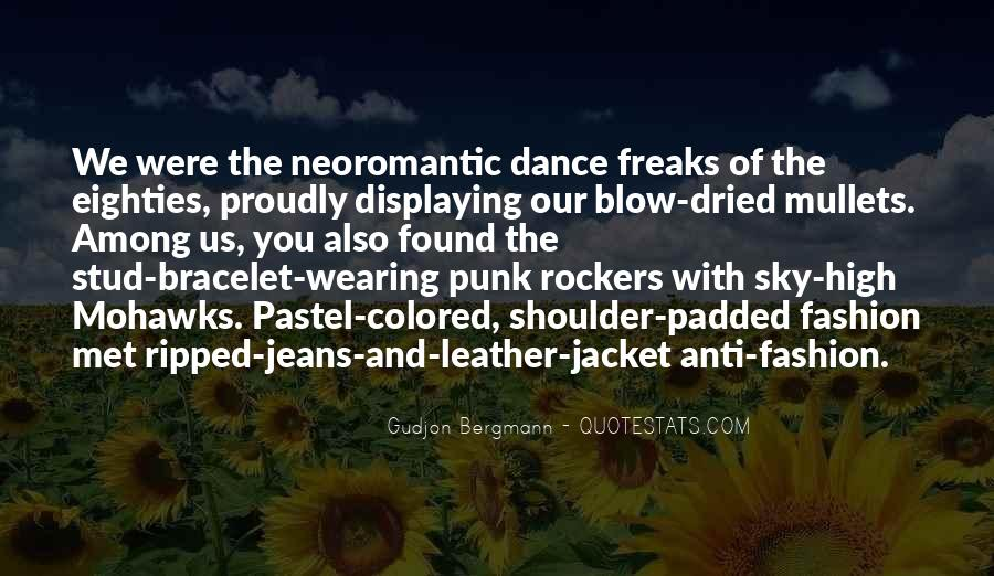 Anti Fashion Quotes #928033