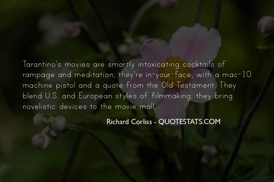 Quotes About Movie Cocktails #1473383