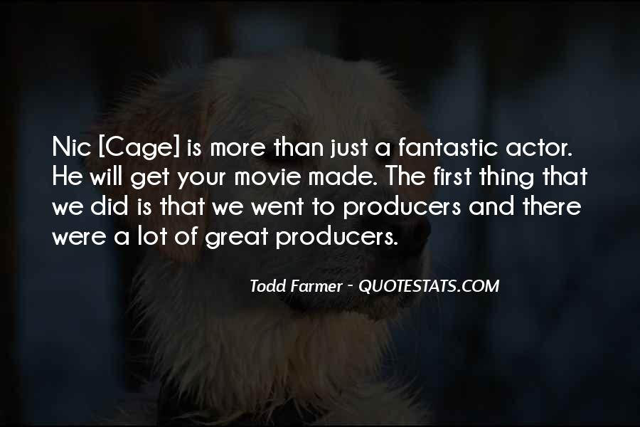 Quotes About Movie Cages #1520330
