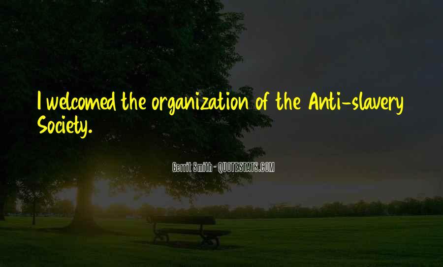 Anti Slavery Society Quotes #7620