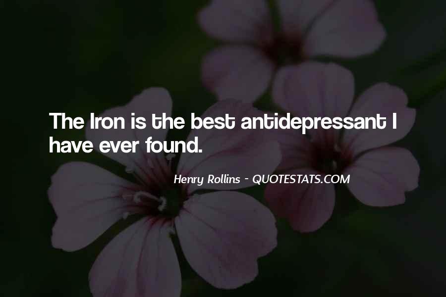 Antidepressant Quotes #1866518