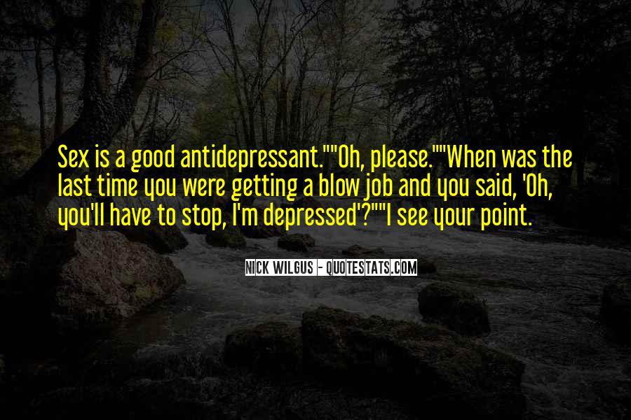 Antidepressant Quotes #862063