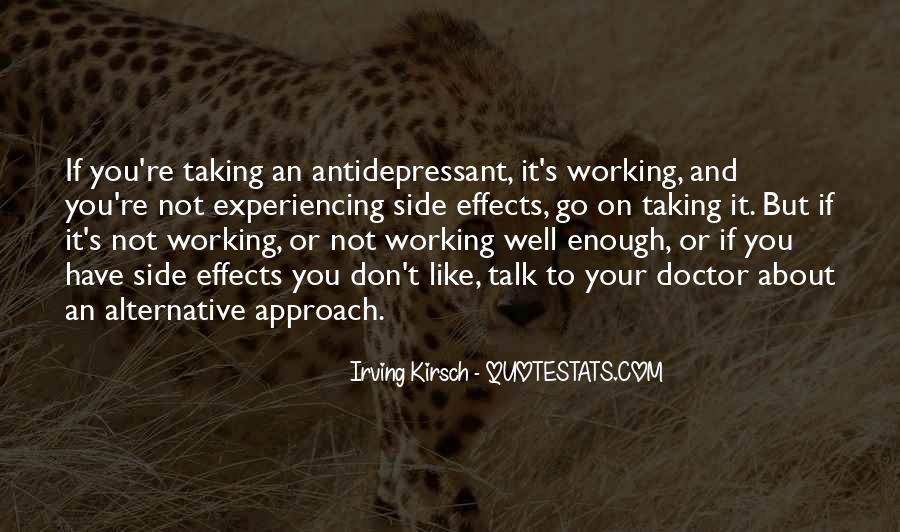Antidepressant Quotes #914516