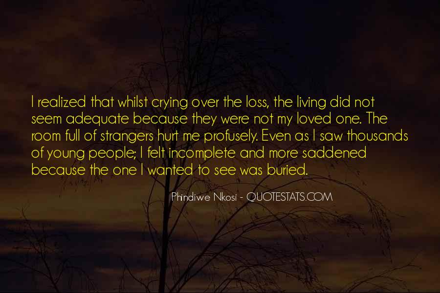 Quotes About Mourning A Loved One #283061