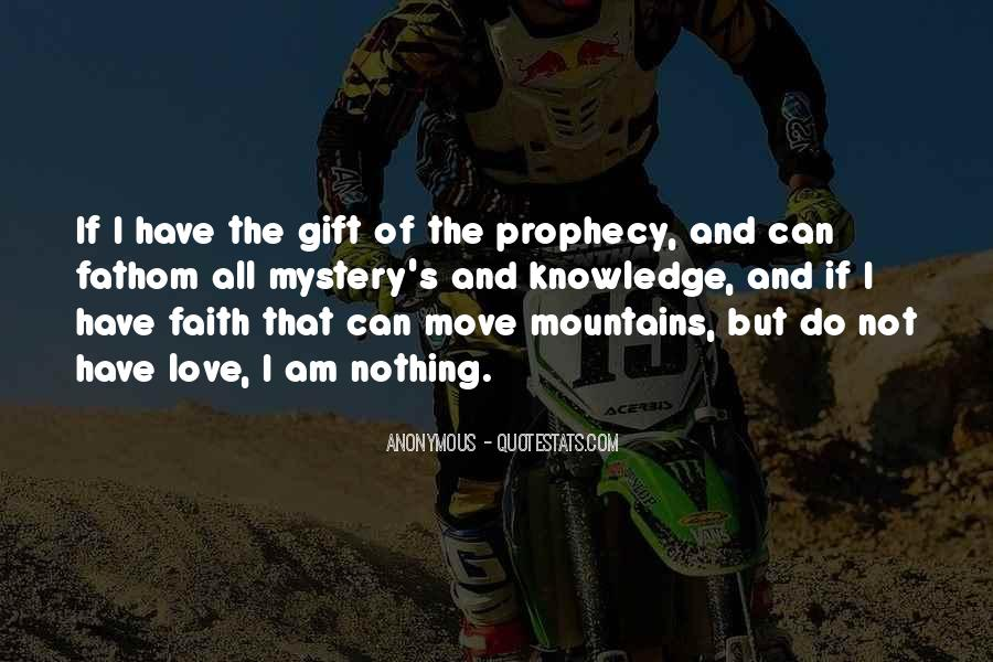 Quotes About Mountains In The Bible #1036820