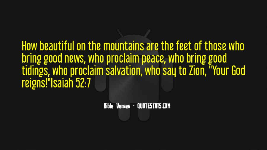 Quotes About Mountains In The Bible #1379059