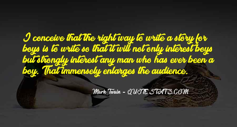 Any Man Quotes #17047