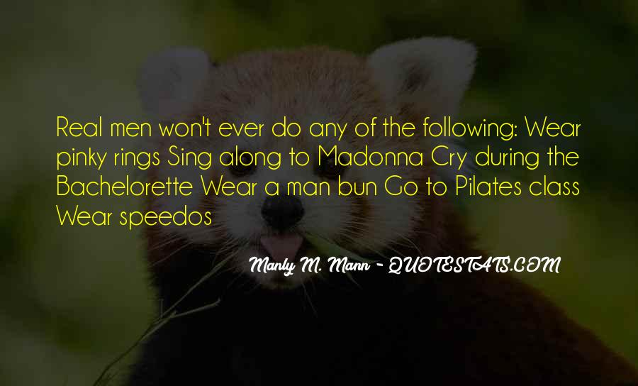 Any Man Quotes #2875