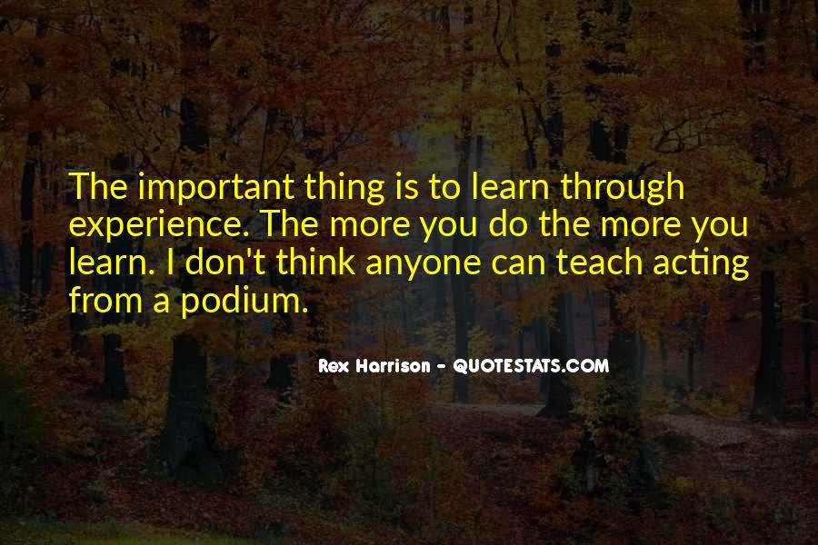 Anyone Can Learn Quotes #738769