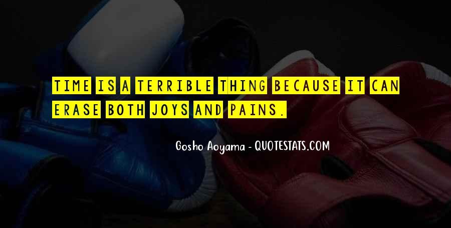 Aoyama Gosho Quotes #1274685