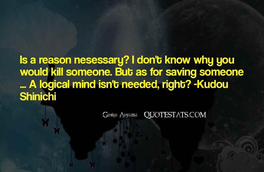 Aoyama Gosho Quotes #437369