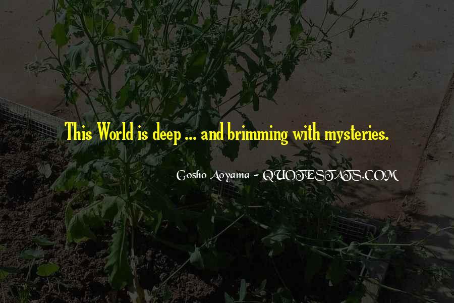 Aoyama Gosho Quotes #810621