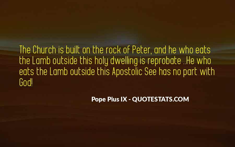 Apostolic Church Quotes #1063223