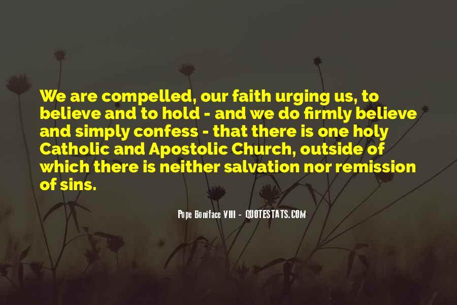 Apostolic Church Quotes #1096209