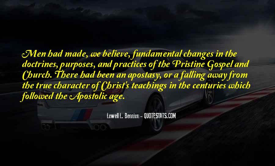 Apostolic Church Quotes #1100005