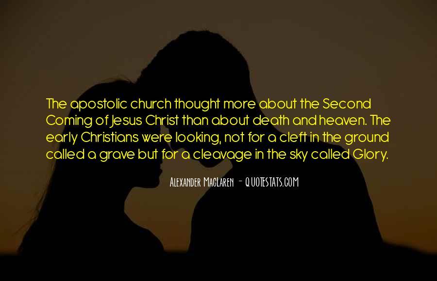 Apostolic Church Quotes #1457729