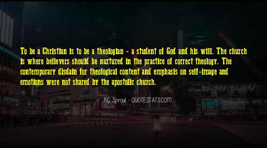 Apostolic Church Quotes #674463