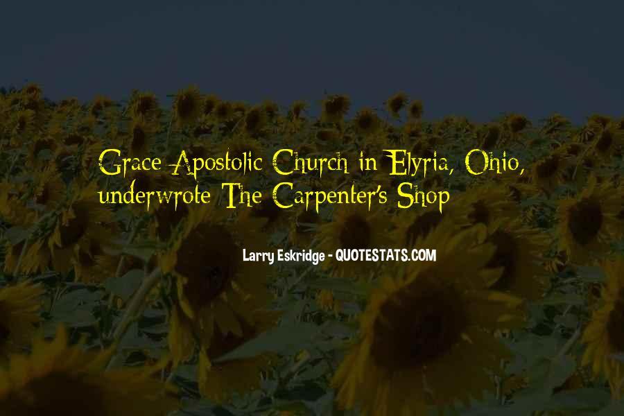 Apostolic Church Quotes #766289