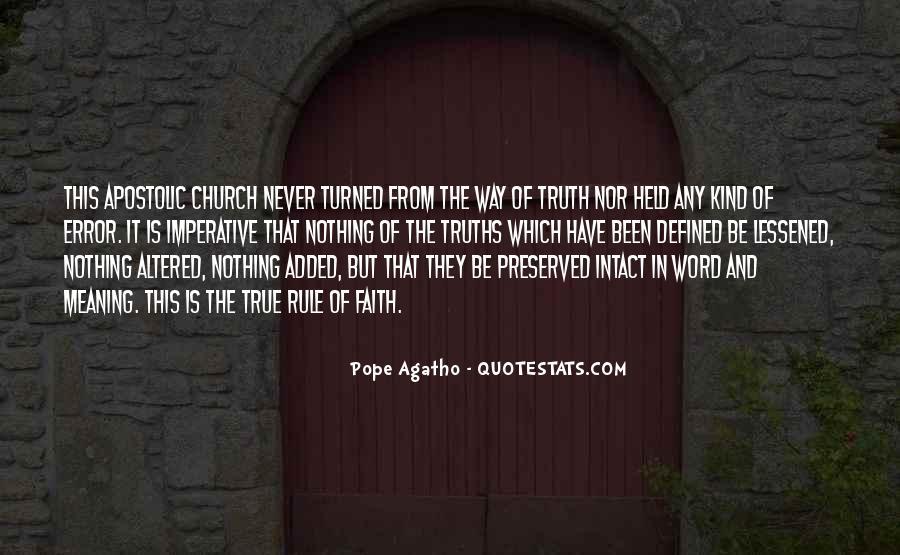 Apostolic Church Quotes #830406