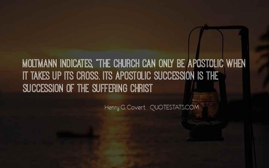 Apostolic Church Quotes #969530