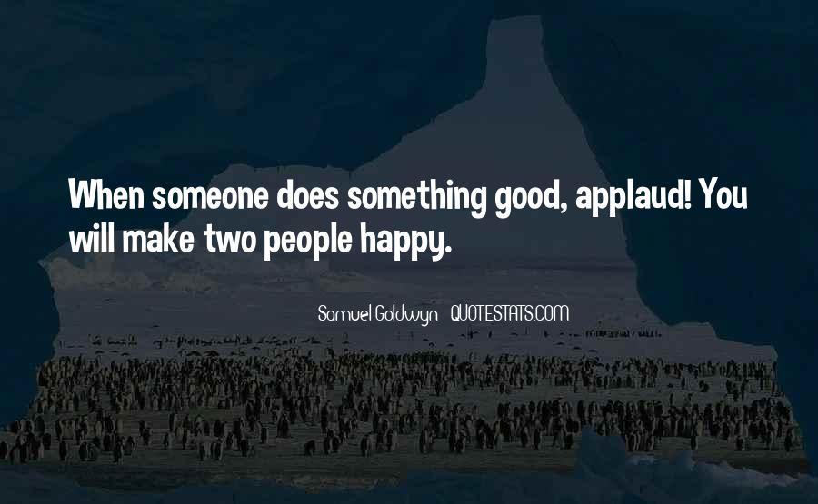 Applaud Quotes #689078