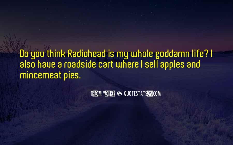 Apples Pie Quotes #1032452