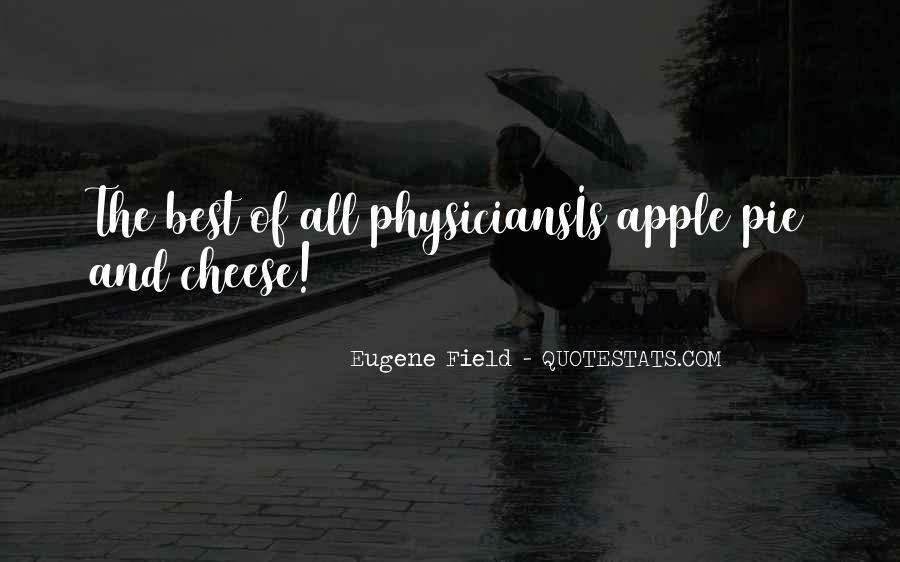Apples Pie Quotes #1377167