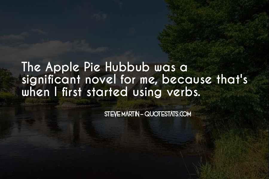 Apples Pie Quotes #612671