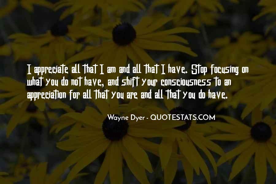 Appreciate All You Do Quotes #1502250