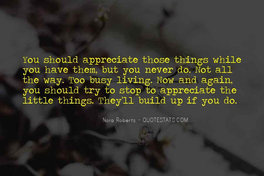 Appreciate All You Do Quotes #300659