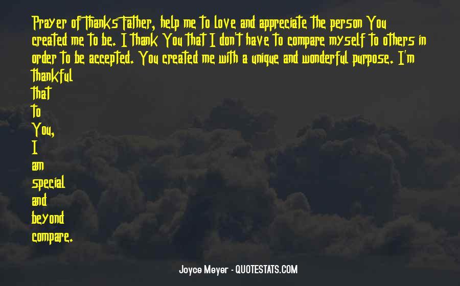 Appreciate The Person You Love Quotes #312591