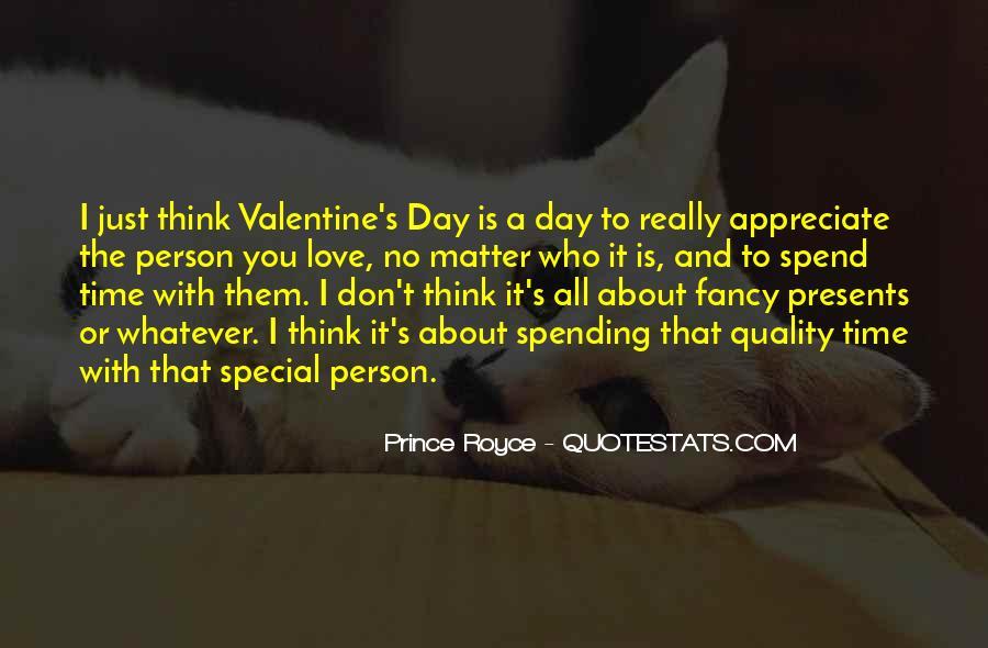 Appreciate The Person You Love Quotes #618805