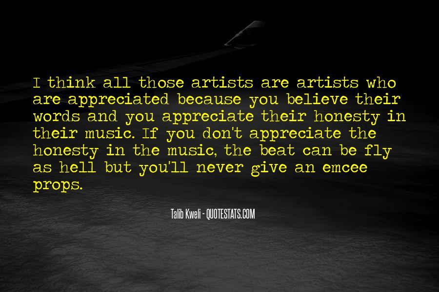 Appreciate Who You Are Quotes #1224233